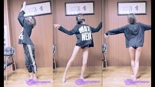 なんという格好で踊っているのだ!海外の美女ダンス