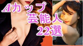 【貧乳好き必見】Aカップ芸能人22選!!