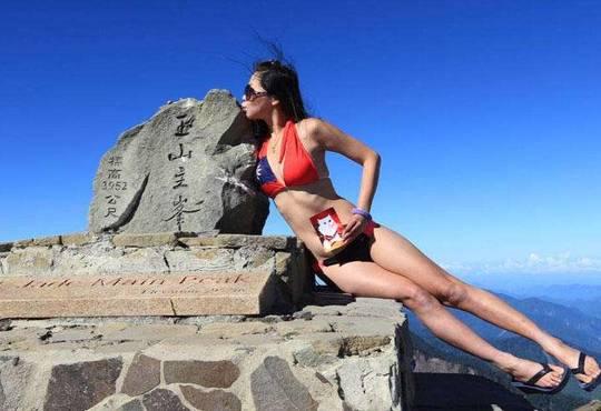 【台湾】ビキニで登山する有名クライマー、山で凍死 –