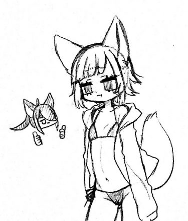 ビキニはスレンダーな子が来ている方が萌えると思う狐です。