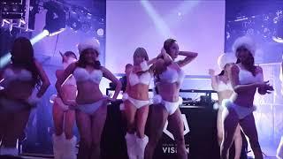 かずへー、かなへー、カレンらが真っ白ビキニでゴーゴーダンス! 熱狂ぶりがスゴい!!