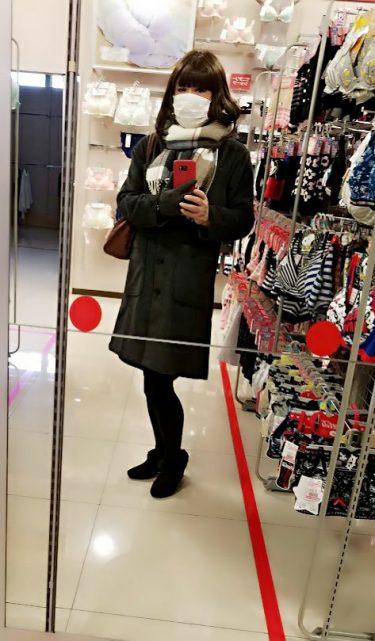 下着って使用感が出てくると嫌ですね😭見えないところだけど、勝負がなくてもいつもきれいにしていたいと思いませんか?これから可愛い下着を選びます🎵ワクワク😃💕です🎵#女装#女装怜奈#女装外出#下着女装