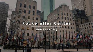【VLOG/ニューヨーク】Rockefeller Center(ロックフェラセンター)