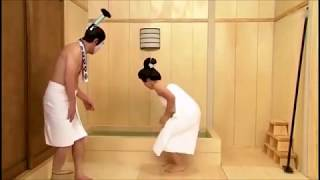 Shimura Ken 803 –  サウナの偶発事故  –  磯山さやか  – Sayaka Isoyama  – (コメディ志村けん)