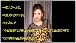 水咲ローラ(芳沢ローラ)が10億円で中国富豪に買われる 画像集!第2の蒼井そら