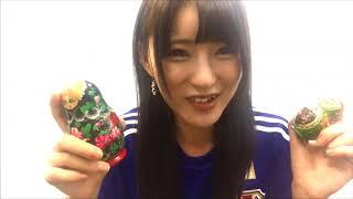人気セクシー女優 波木はるかチャンのサッカー日本代表応援動画