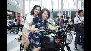 """大原優乃に""""生カチャ""""してほしい—バイクの日、ヘルメット着用呼びかけ"""