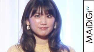 久松郁実、透け感レースドレスで華やかに 「K-1 AWARDS 2019」プレゼンター