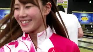 【ボウリング】ピンクのミニスカがめっちゃ似合うさわやかプロボウラー♪