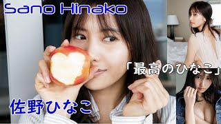 """Sano Hinako """"The best of Hinako"""" 佐野ひなこ 写真集「最高のひなこ」"""