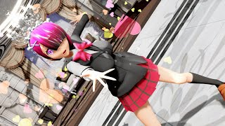 【R18MMDリゼロ】ラムがエロ女子高生制服でハーレムダンス♥Re:ゼロから始める異世界生活 Re:Zero