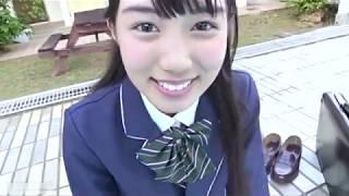 Idol Gravure Hikari Kuroki 【黒木ひかり】 No.5 制服・白水着シーン