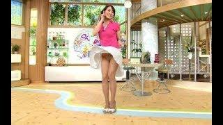 女子アナ 放送事故ハプニング集