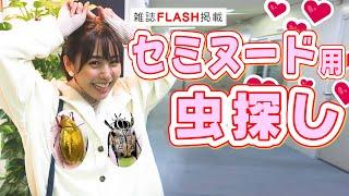 【雑誌Flash掲載】セミヌード用虫探し!!