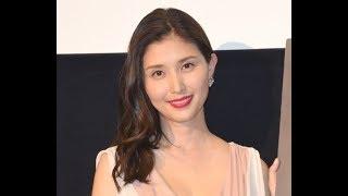 ✅  第1子出産を報告した橋本マナミ (C)ORICON NewS inc.