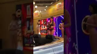 上海成人展2020十一弹,性感模特走秀,巨乳美女