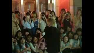 凰稀かなめ 初日 退団発表後出待ち 東京宝塚宙組ベルサイユのばら