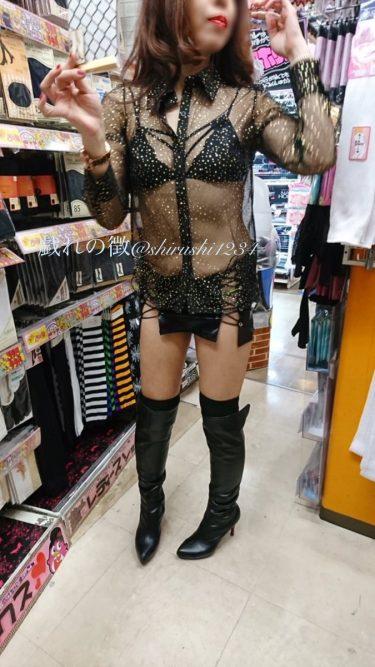 おはようございます!笑顔で参りましょう〜笑顔届けー⁽⁽ଘ( ˊᵕˋ )ଓ⁾⁾#outdoorflashing #publicflashing #チラリズム #exhibicion #upskirt #ビキニ #bikini…