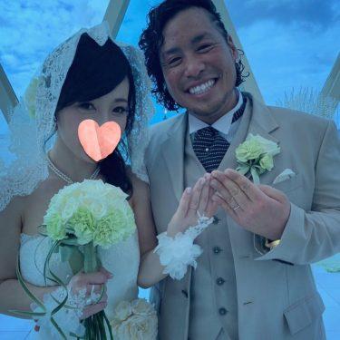 本日、グアムにて結婚式を挙げました💒💍✨スタッフの皆様の温かいサポートに胸がいっぱいになりました💖感動と笑顔いっぱいの素敵な時間を過ごしました⭐️