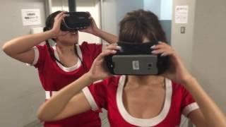【360°VR動画】明日花キララ&スーブーが「バッキャロー」を体験してみた!
