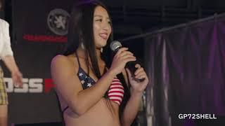 決勝は水着審査 スタイル抜群のモデル美女がミスコンビキニでどやさ!