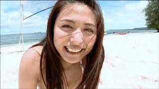 川村ゆきえ Yukie Kawamura ビキニでビーチバレー