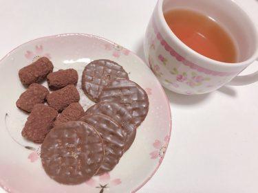 ダンスレッスンから帰宅。珍しくティータイム🥺ティーは去年台湾で買った美人茶☕️💓🤣お菓子は昨日差し入れで頂いたスタバのマシュマロ😊チョコクッキーを添えた👏